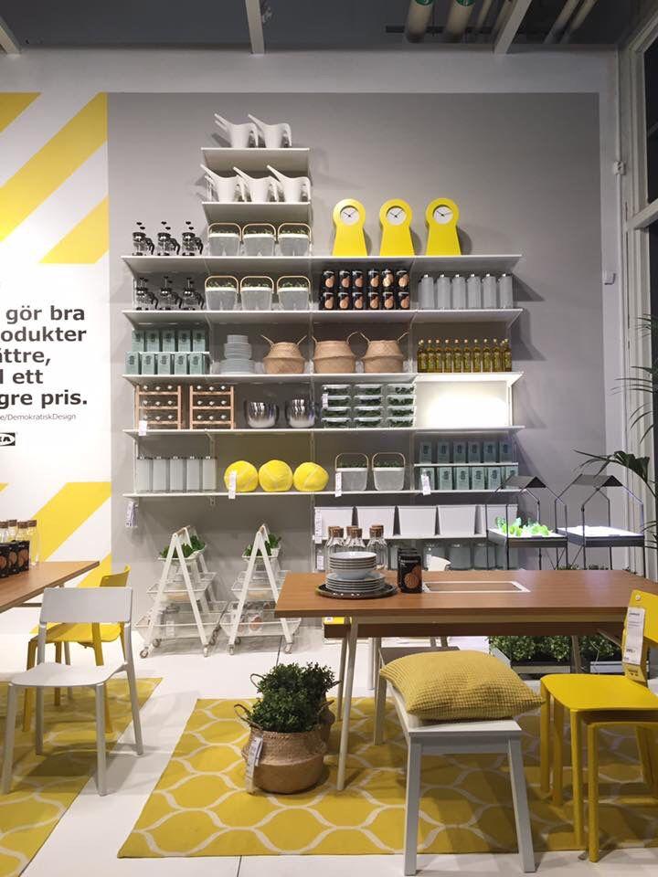 Ikea Karlstad Entrance Podium Visual Merchandising In 2019 Ikea