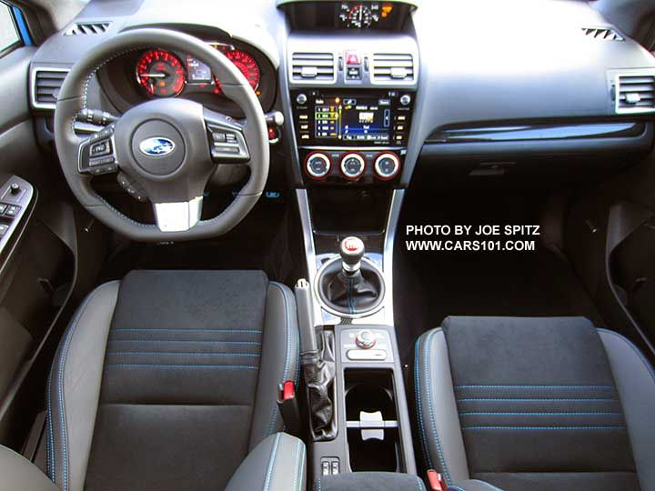 subaru wrx 2016 interior. 2016 subaru wrx sti serieshyperblue interior seats dashboard center console wrx