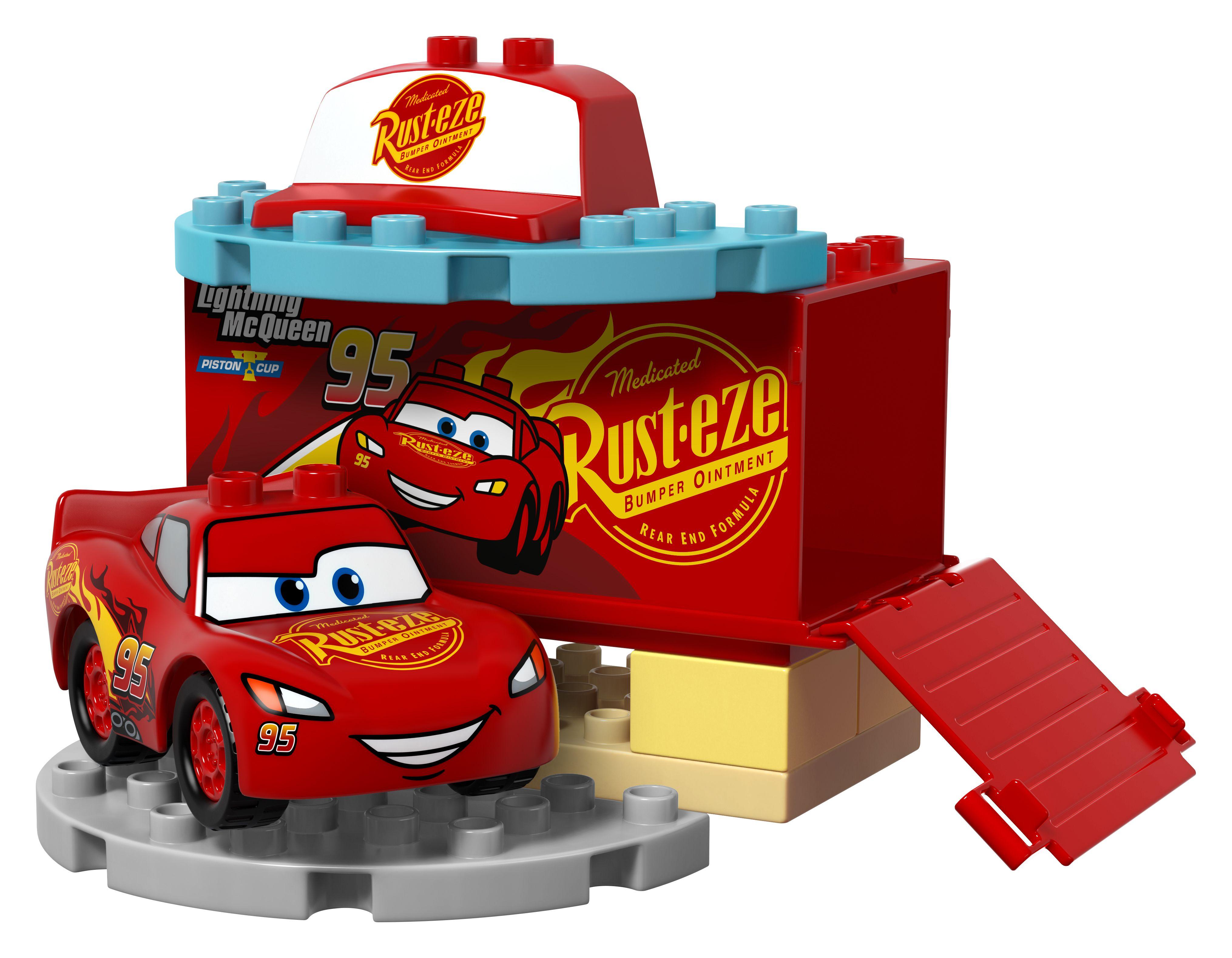 VROOM! Into LEGO with Cars 3 Lego junior sets, Lego