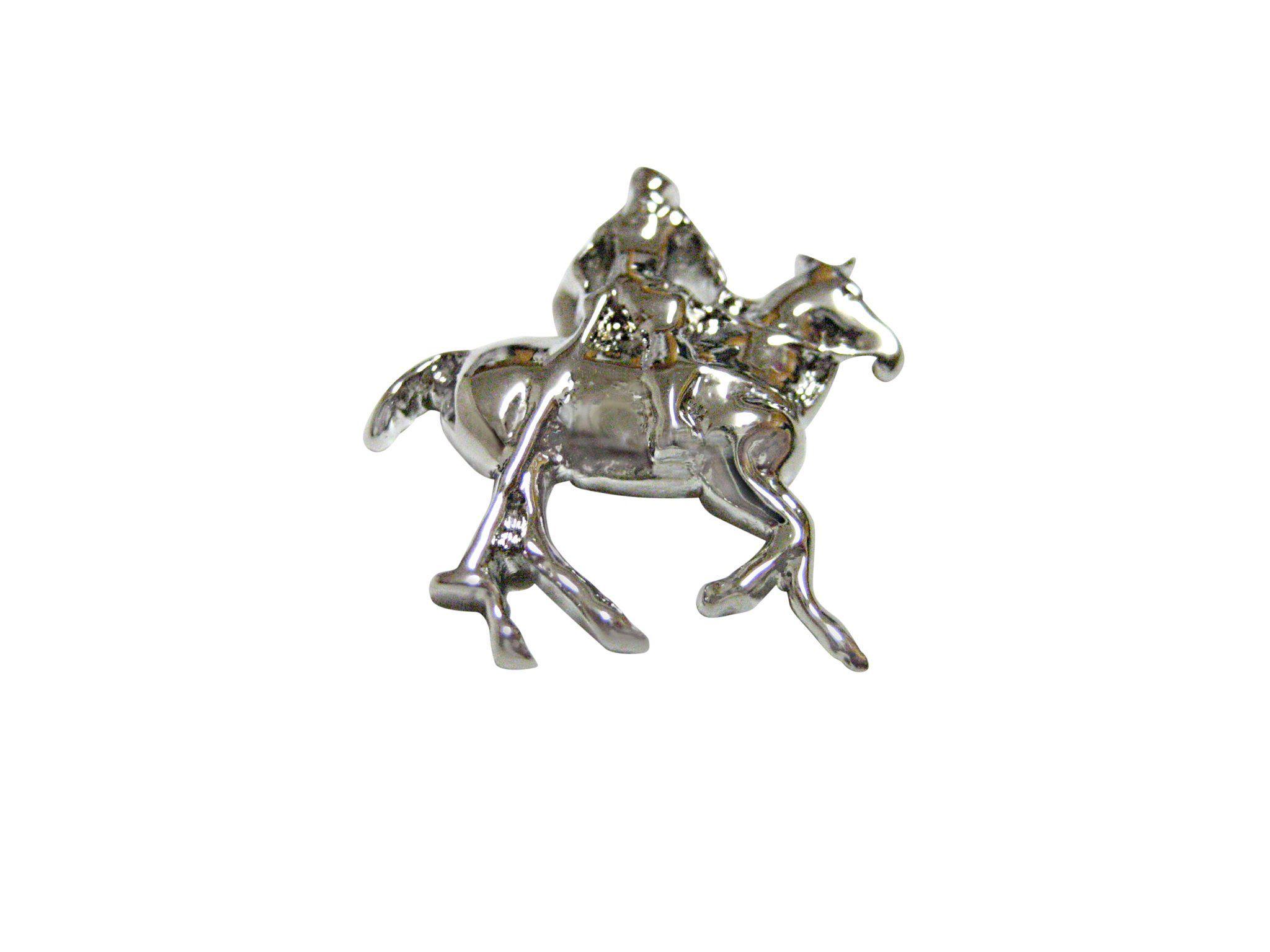 Horse Riding Polo Player Magnet Pendants Horse Riding Metallic Object