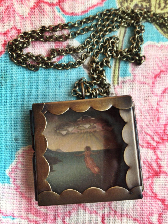 It's happening I've been called... pendant by geminitactics, $25.00