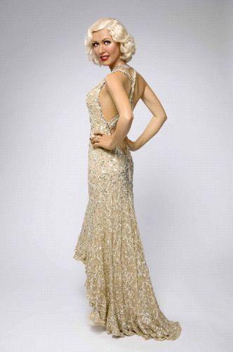 Christina Aguilera Waxwork At Madame Tussauds Vintage Fashion