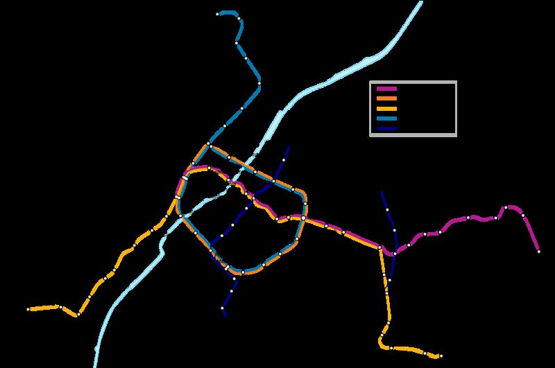 Mapa Del Metro De Bruselas Bélgica Mapa Del Metro Linea De Metro Red De Metro