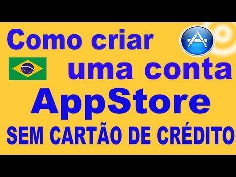 Como criar Conta AppStore SEM CARTÃO DE CRÉDITO