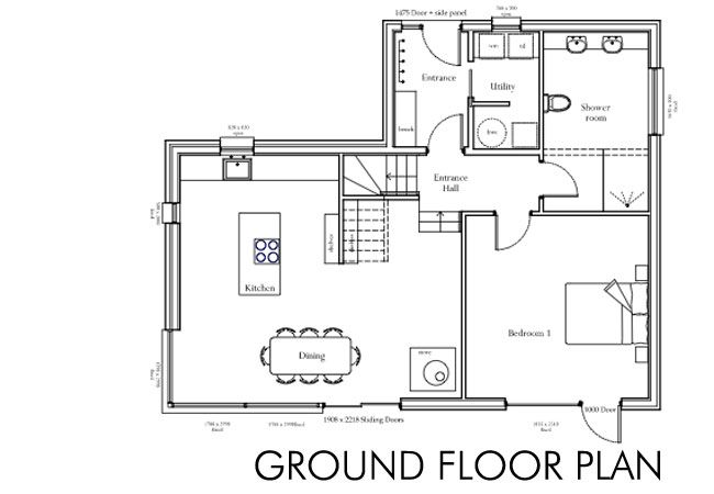 Floor Plan Of Self Build House Building A Dream Home Self Building A House Floor Plans House Plans Self Build Houses