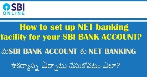 How to set up NET banking facility for your SBI BANK