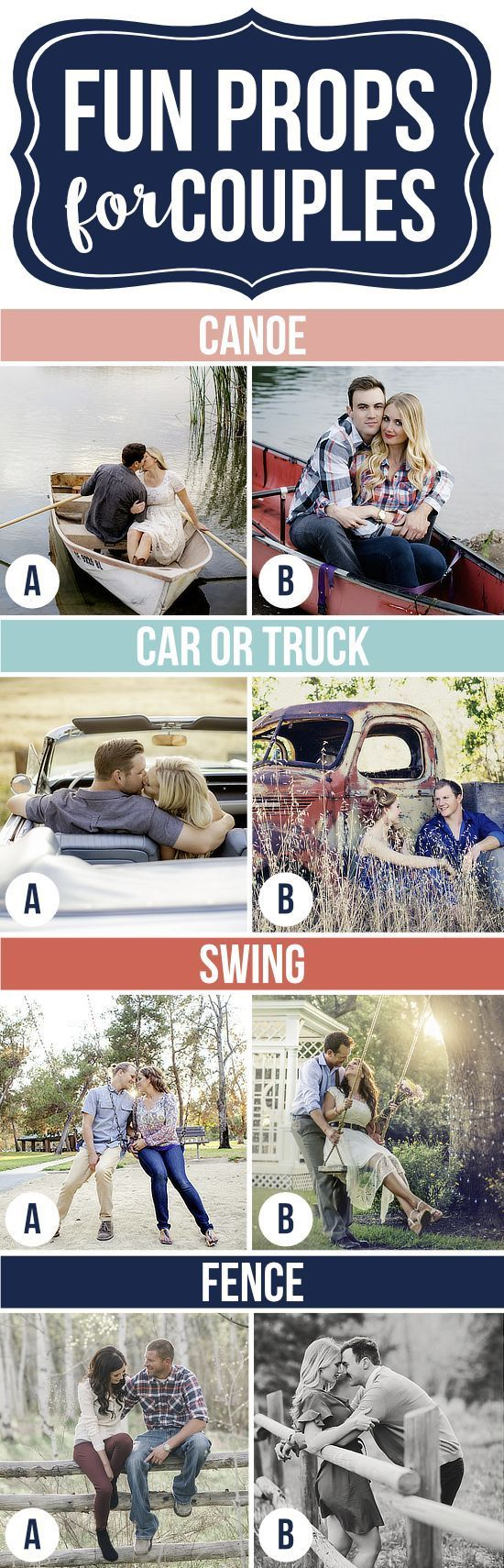 Photography Tips   Fun Props for Couples Photography   photoshoot pose ideas