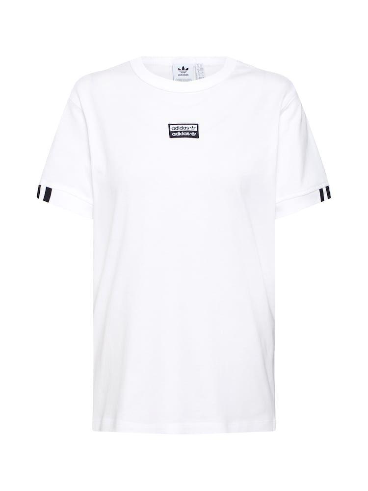 Adidas Originals T Shirt Damen Weiss Grosse Xxs Shirts T Shirt Damen Und Adidas Originals