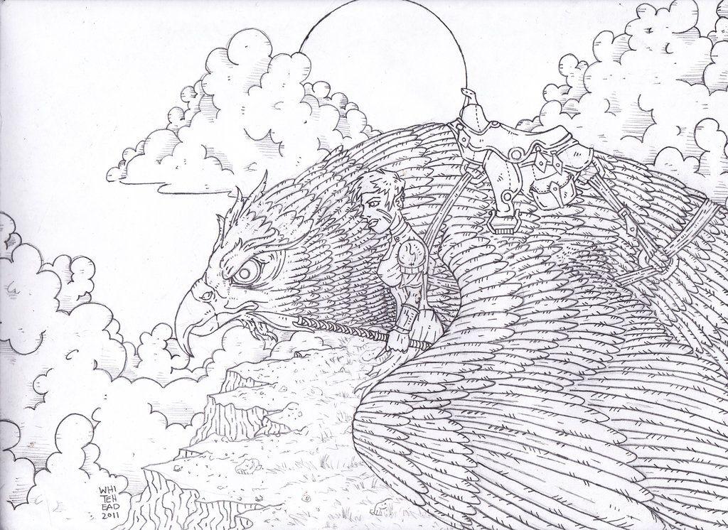 BIRD RIDER by chungusamongus on deviantART Fantasy Myth