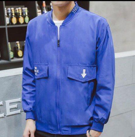 Fashion letter bomber jacket for men plus size clothing