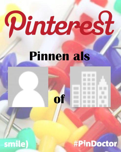 Gebruik ik mijn eigen naam voor mijn Pinterest account of mijn bedrijfsnaam als ik #Pinterest zakelijk in wil zetten? Blog door Suzanne Wartenbergh