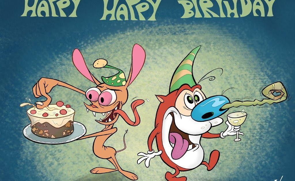 ren and stimpy happy birthday Say hello to Ren & Stimpy's dad , and wish him Happy Birthday  ren and stimpy happy birthday