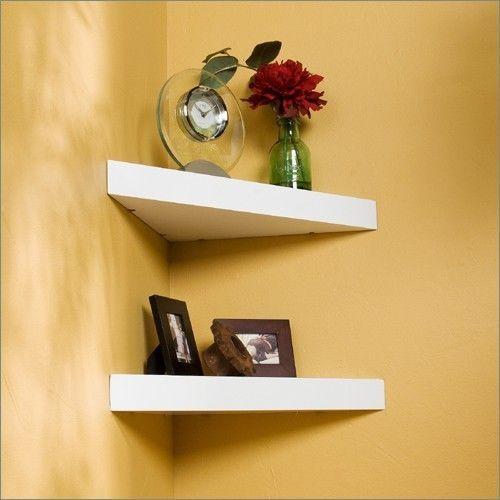 Floating Corner Shelves | Bedroom Ideas | Pinterest | Floating ...