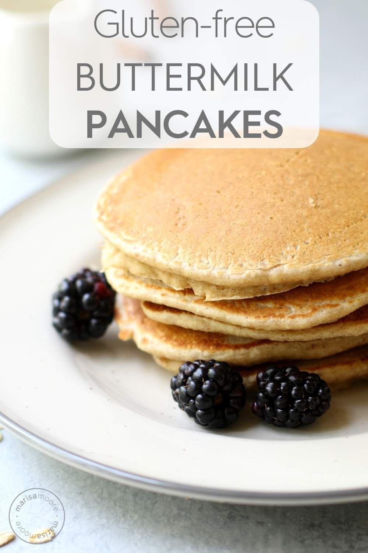 Buttermilk Oat Flour Pancakes Recipe Oat Flour Pancakes Gluten Free Buttermilk Pancakes Oat Pancake Recipe