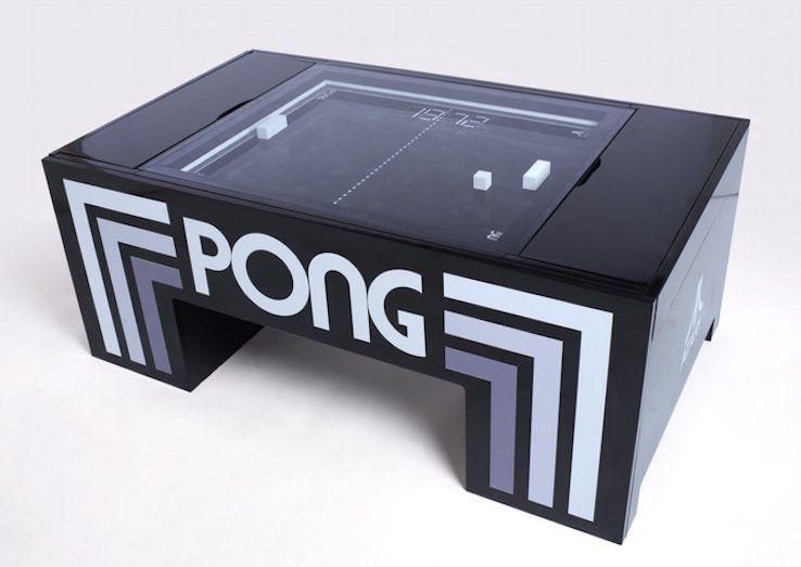 Atari Pong Coffee Table Com Imagens Arcade Fliperama Arcade