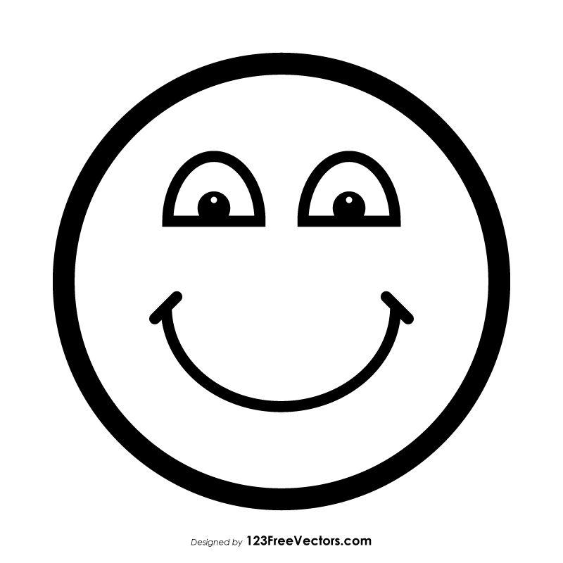 Happy Emoji Image Outline Emoji Images Emoji Happy Images