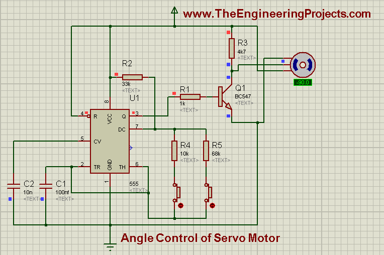 10000 Inverter Wiring Diagram Angle Control Of Servo Motor How To Rotate Servo Motor