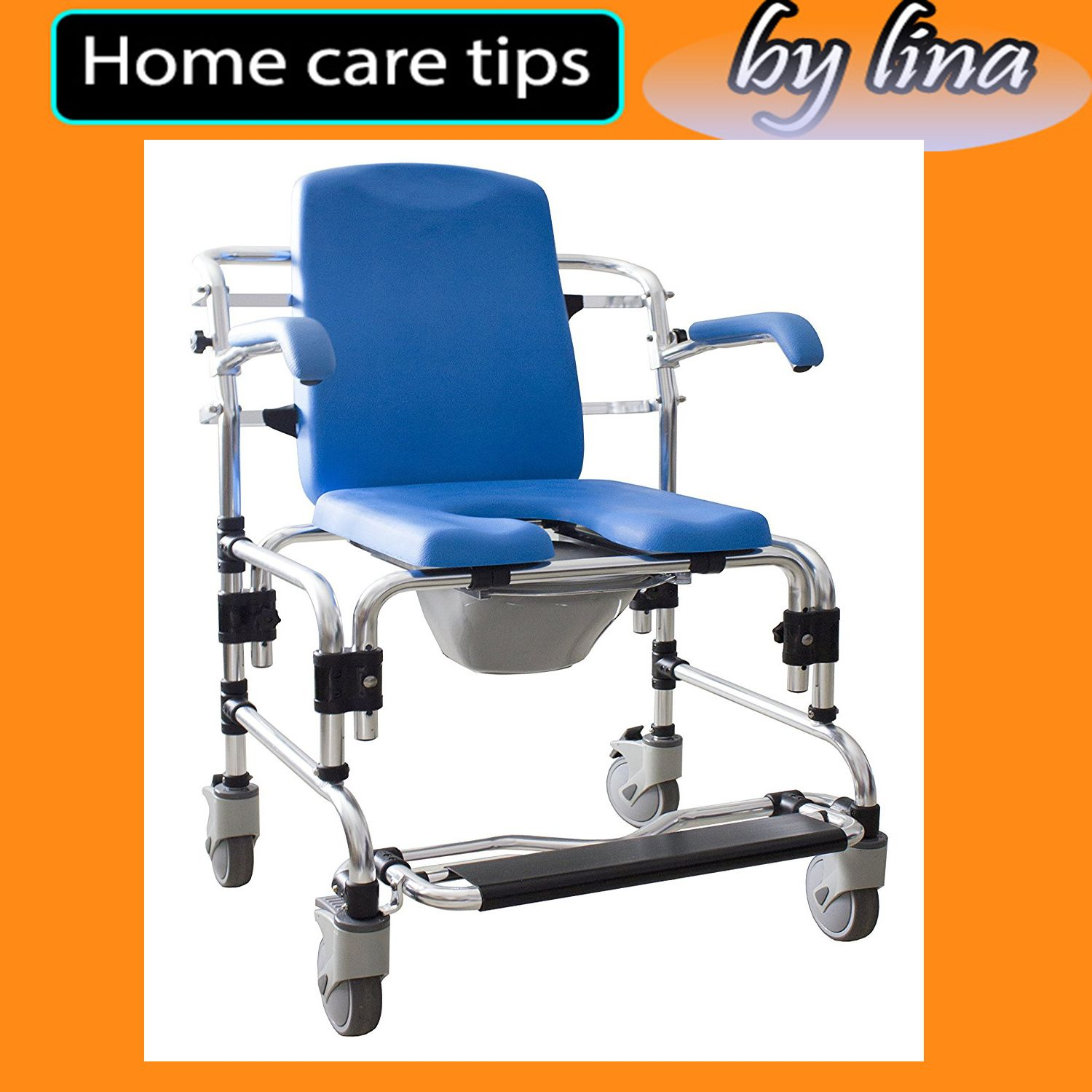 Caspian Professional Mobile ChairPADDED