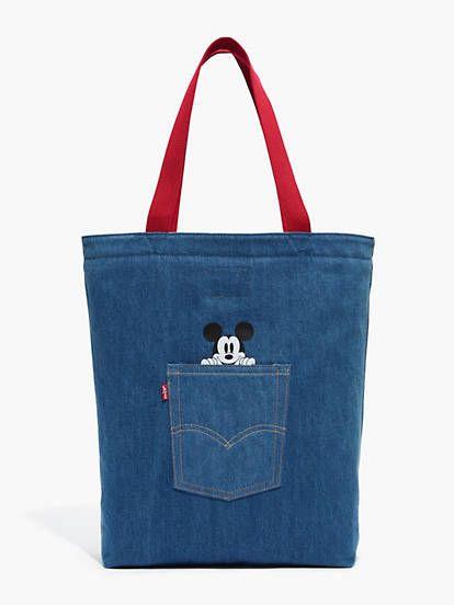 6da2a549b x Disney Mickey Mouse Back Pocket Tote Bag in 2019 | Mickey cartera ...