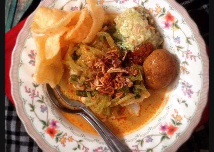 Resep Lontong Sayur Betawi Komplit Oleh Ibu Malka Resep Resep Makanan Makan Malam