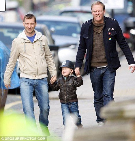 Coronation Street: Cute gay couple with son