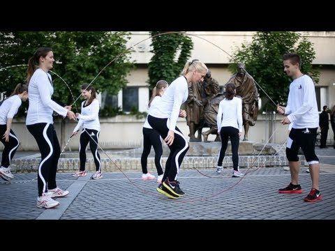 Touwtje springen = afvallen, afslanken & gewicht verliezen - Salusi.nl