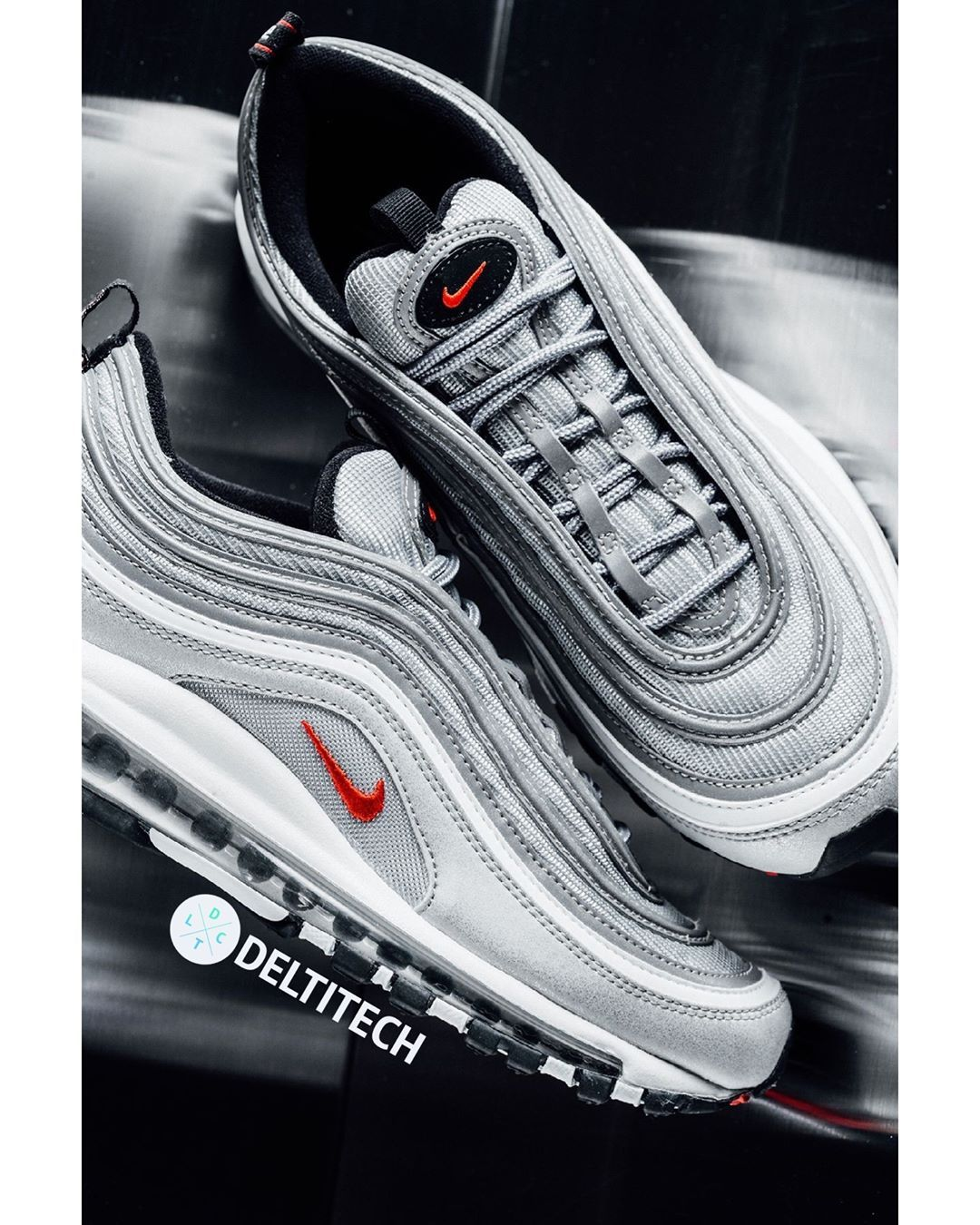 Deltitech Brands On Instagram Nike Air Max 97 Silver Bullet Go Grab Your Colorway Online Deltitechbrand Nike Air Max 97 Nike Boots Adidas Shoes Outlet