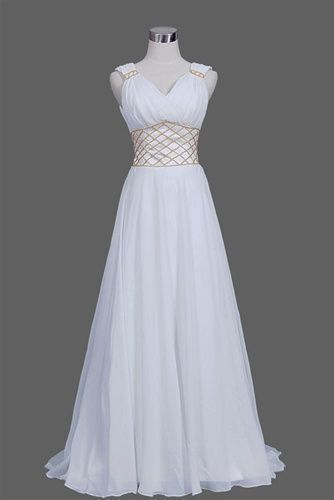 Photo of A Line Prom Dresswhite prom dress long woman dressesSexy Evening DressFashio