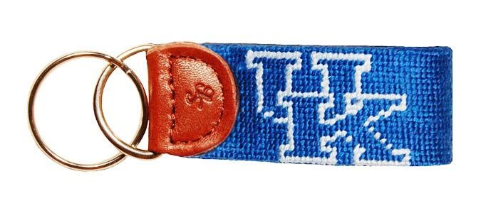 University of Kentucky Needlepoint Key Fob by Smathers & Branson
