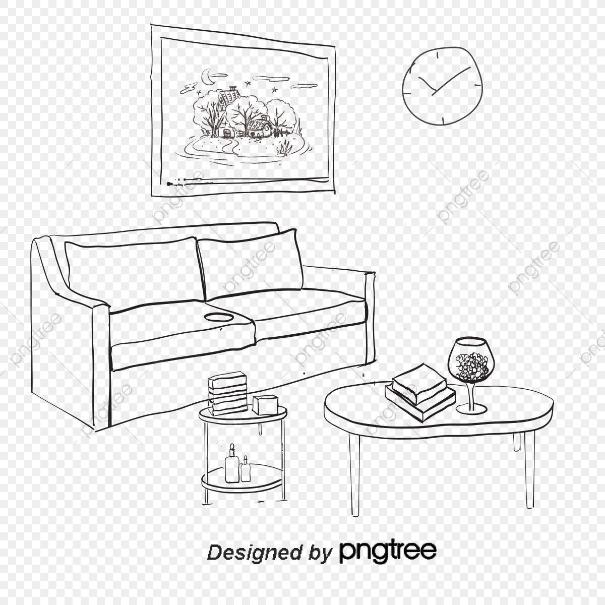 دراسة مكتب غرفة المعيشة غرفة نوم غرفة فنية رف الكتب الوطن المشهد Png والمتجهات للتحميل مجانا Room Living Room Living Room Bedroom