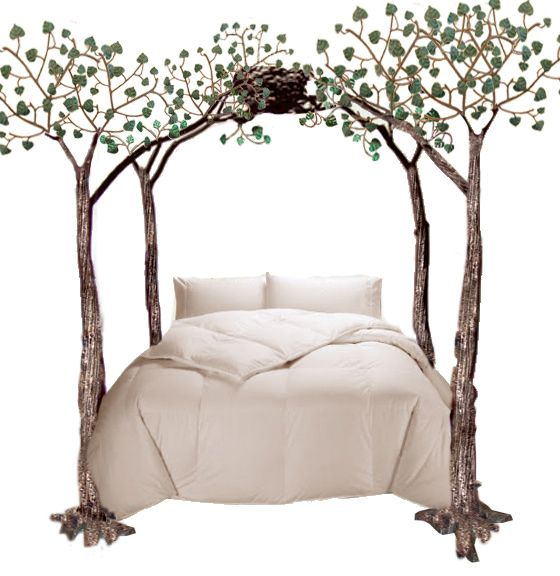 iron king bed - birds nest wrought bed - bnb67 elf room? | future