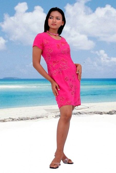 a48113bf4400 Ocean Splendor Short Sleeve Dress at Tropical Tantrum | Casual ...