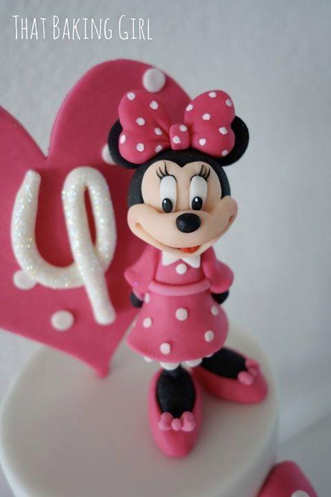 Minnie mouse daisy duck party torta de cupcakes for Decorare la stanza di minnie e topolino