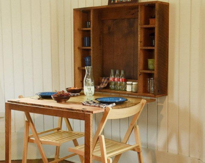 Doblar hacia abajo mesa para casa pequeñas - mesa plegable o ...