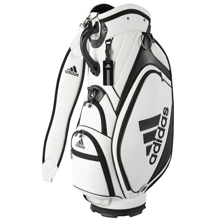 b3baacae6f80 New Adidas CORE Caddy bag 9 QR805 N6138201 White   Black  adidas ...