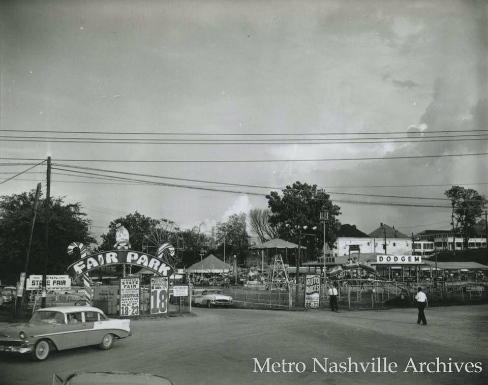 Fair Park, Nashville, TN 1950's Music city nashville