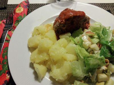 Från Underbara Umbrien: Köttfärslimpa som i Cortona