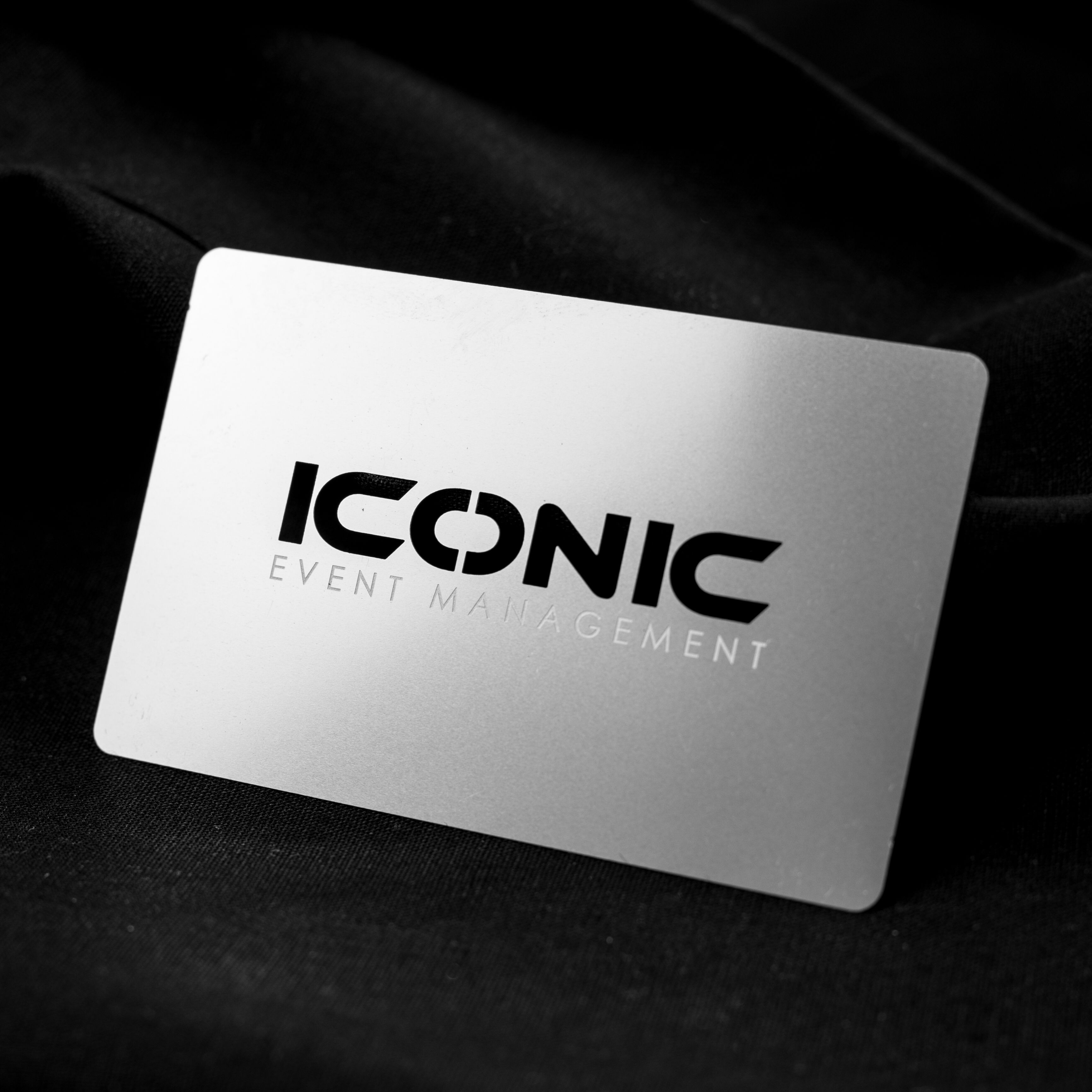 Another great example of our stainless steel business cards. The ...