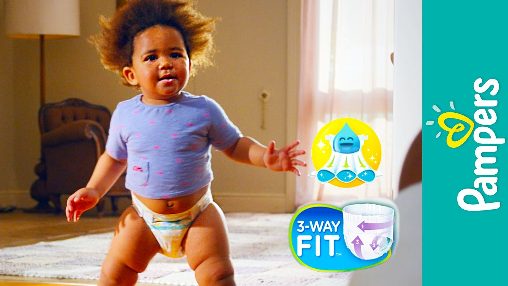 Pampers Cruisers Diapers: Product Demo | Best Fit for a 12-Hour