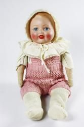 Martta doll, a certain type of ready-made dolls, 1930-1949, Finnish Toy Museum