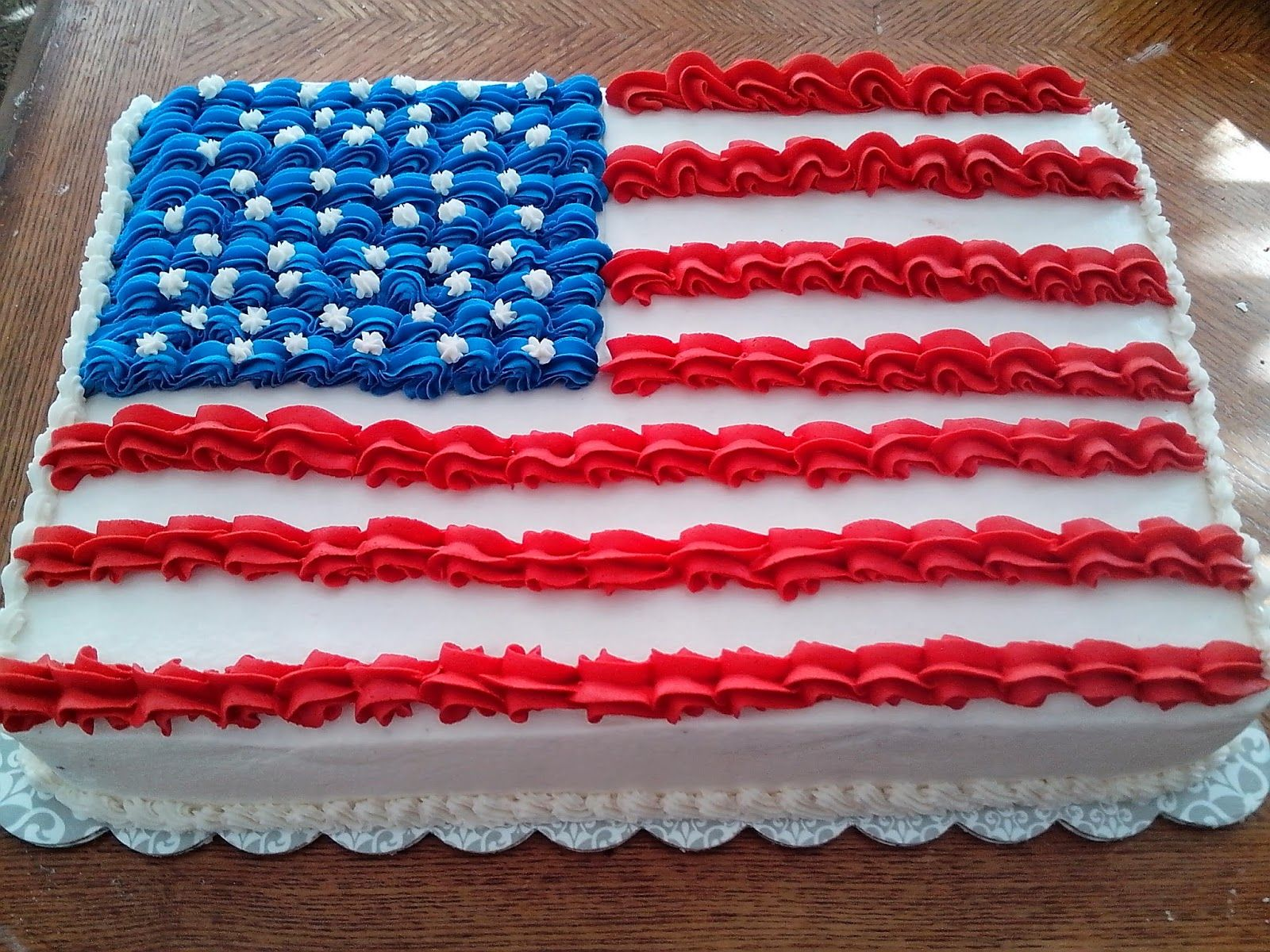 Veterans Day Cake With Images Patriotic Cake Holiday Cake