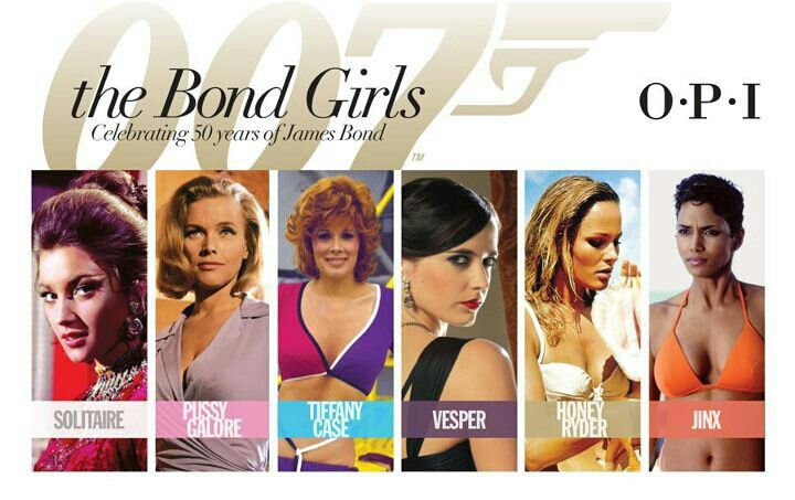 The entire 007 Bond Girls Liquid Sand collection by O.P.I.   MUST.HAVE!!!!!