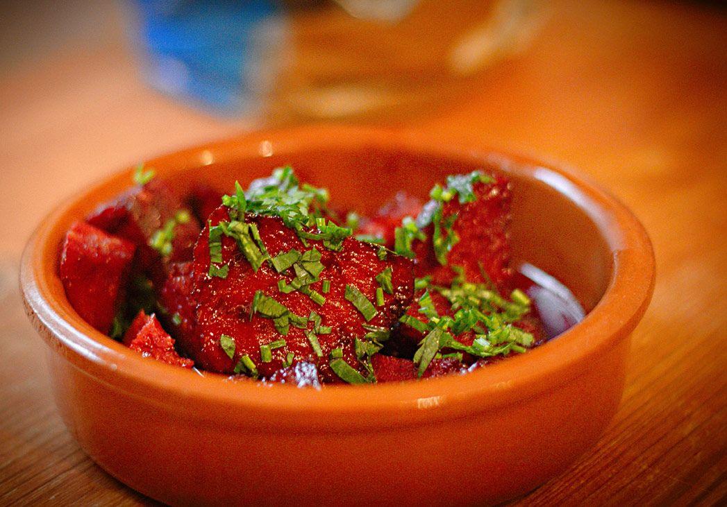 Photo of Tapas: Chorizo in red wine