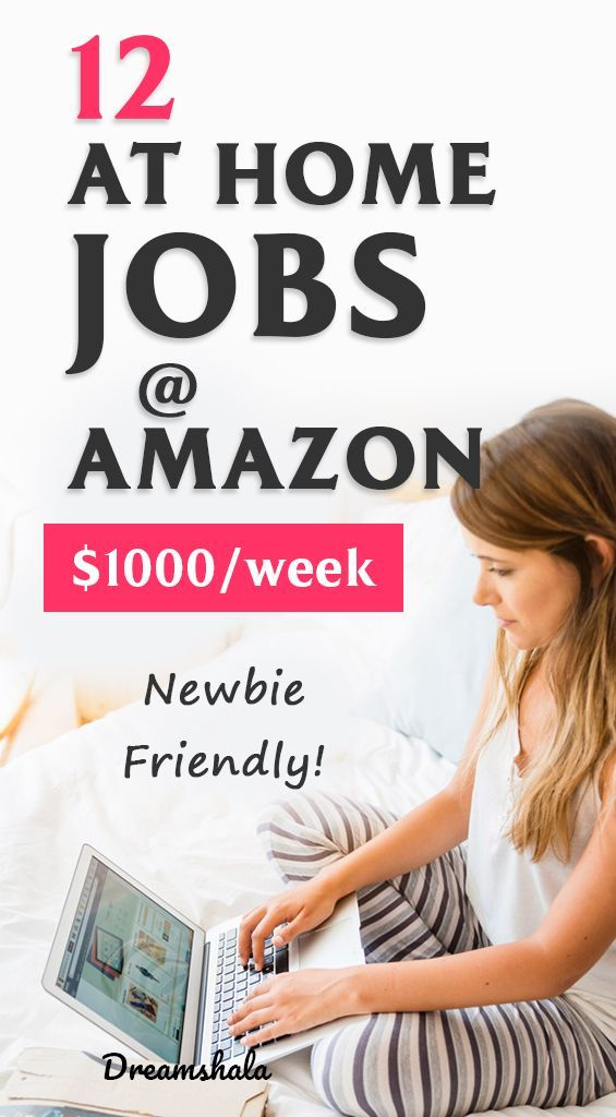 12 at home jobs at amazon. #amazonjobs #amazonworkathomejobs