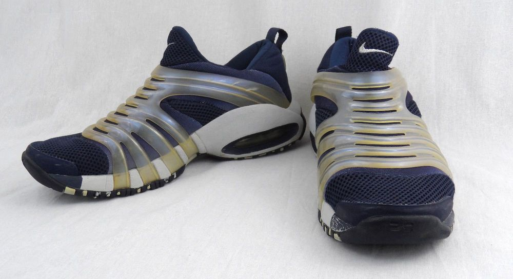 Nike Max Air Tremble 173304 441 Size XS Slip on Runners Trainers