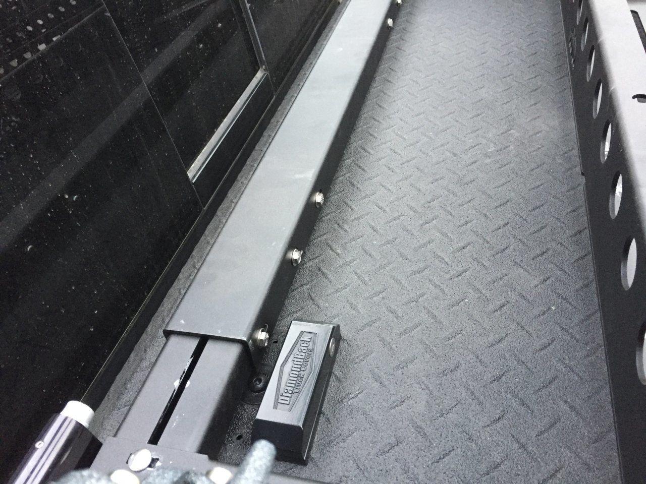 KB Voodoo AluMax Rack Install with Diamondback Cover