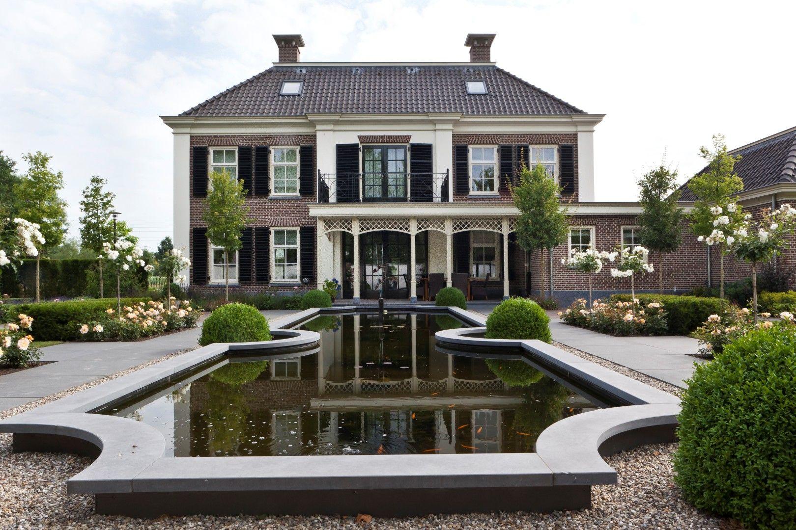 Exclusieve tuin vrijstaande woning uiteraard huis ontwerp friso