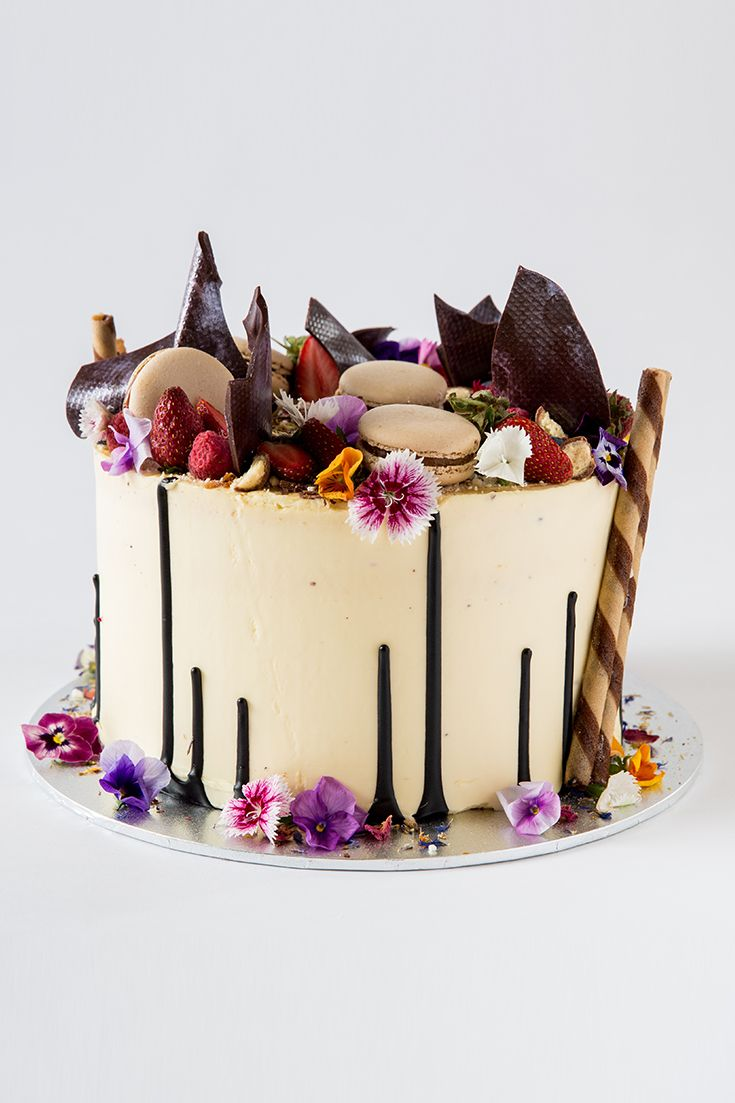 Astonishing This Cake Is Certainly A Looker The Instagram Sensation That Is Birthday Cards Printable Benkemecafe Filternl
