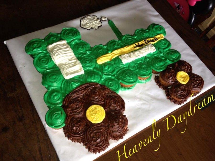 John Deere Cupcake Cake Ideas Youll Love John deere cupcakes