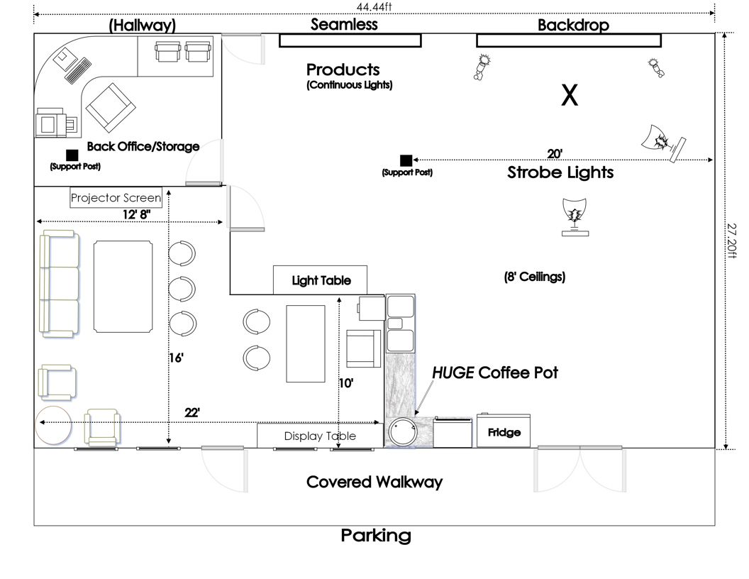 Photography Studio Plans Google Search Studio Floor Plans